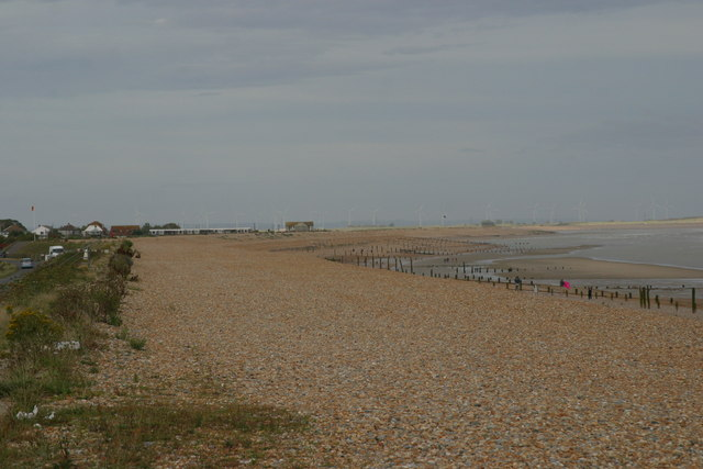 Winchelsea Beach the foreshore