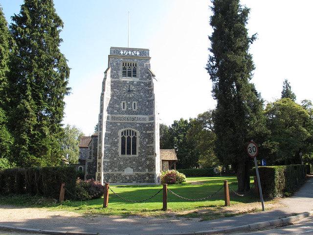 St Paul's church, Woldingham: tower