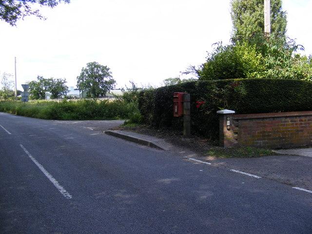 Sparrowhawk Road & Beccles Road Postbox