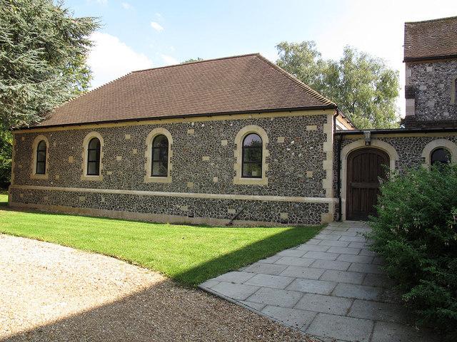 St Paul's church, Woldingham: hall