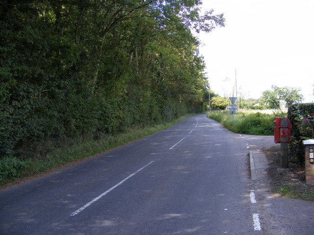 Sparrowhawk Road, Holton & Beccles Road Postbox