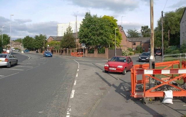Junction on Nippet Lane