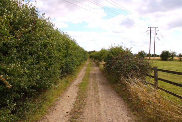 Bridleway to Drayton by the A34