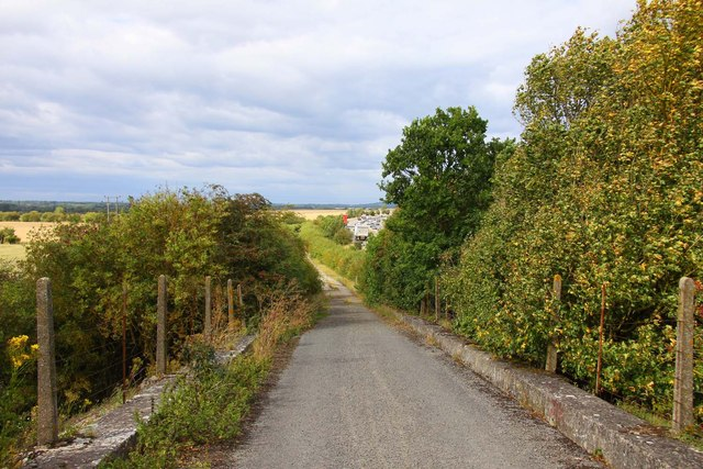 Bridleway by the A34