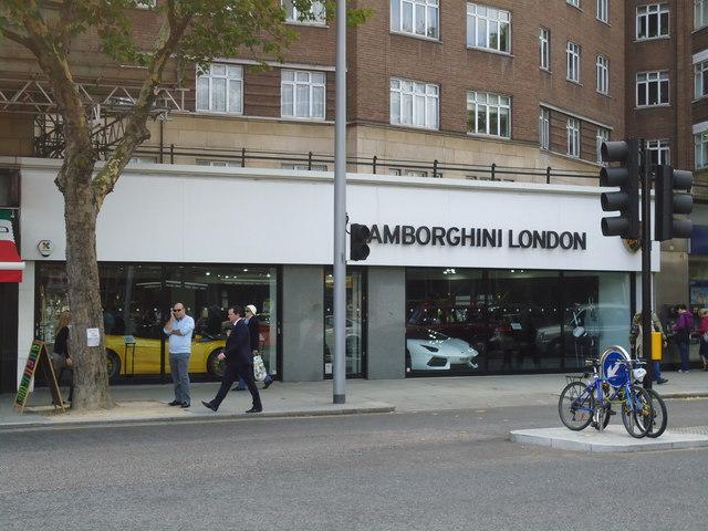 Lamborghini London, Old Brompton Road, London SW7