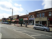 TQ1884 : Shops, Ealing Road, Alperton by Stacey Harris