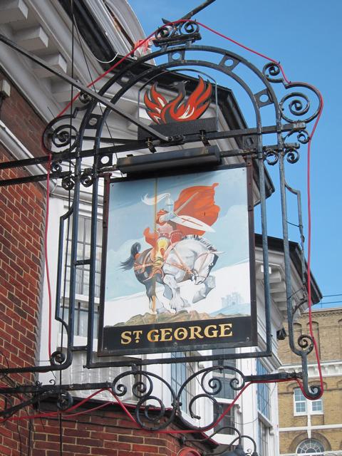 St George sign