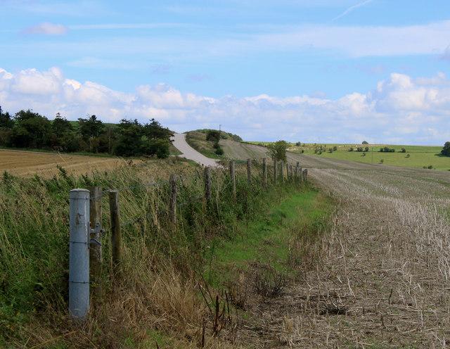 2011 : Military Range, along the perimeter fence