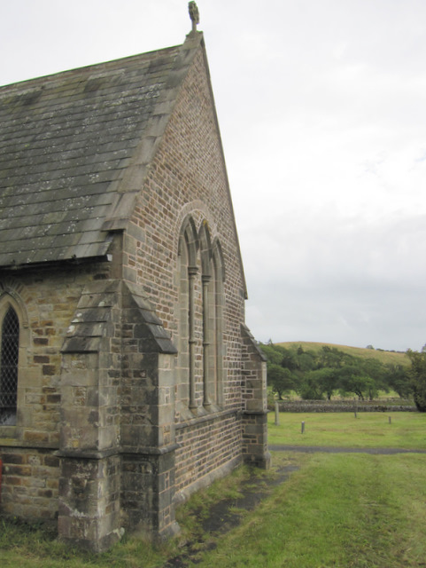 The west end of St James' church, Dalehead, Tosside
