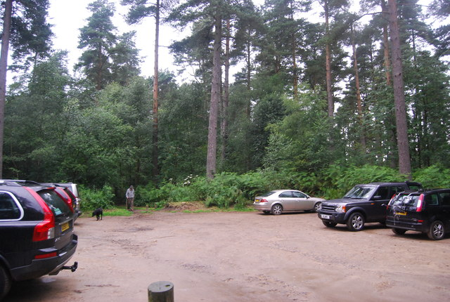 National Trust Car Park, Black Down