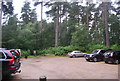 SU9230 : National Trust Car Park, Black Down by N Chadwick
