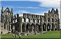 NZ9011 : Ruins of Whitby Abbey by Pauline E