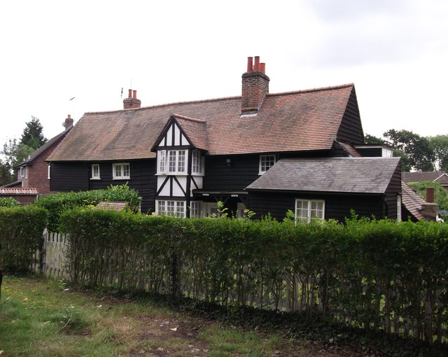 Timber lodge near Pickhurst Green