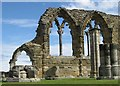 NZ9011 : Abbey ruins, Whitby by Pauline E