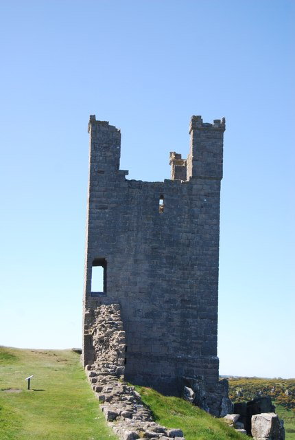 Tower, Dunstanburgh Castle
