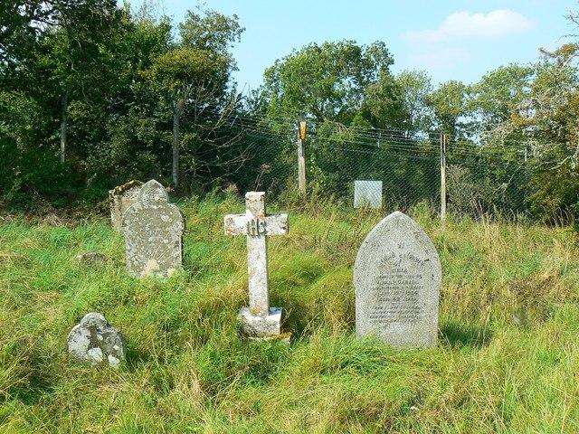 Gravestones, St Giles' Church, Imber