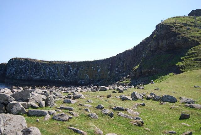 Sea Cliffs below Dunstanburgh Castle