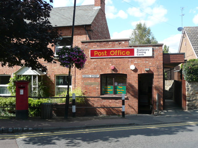 The Post Office, Cross Street, Moulton