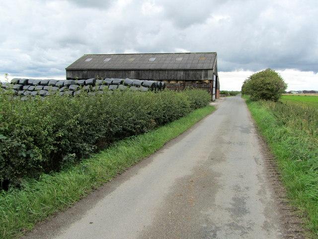 Approaching Birch House Farm