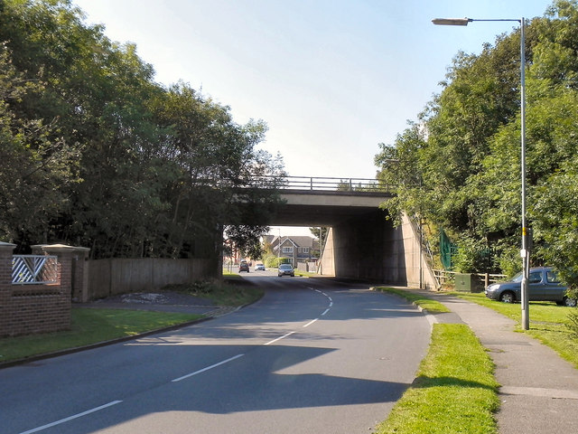St John's Road, Motorway Bridge