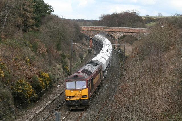 East Coast main line at Sunderland Bridge