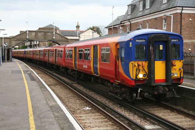 Hampton Railway Station