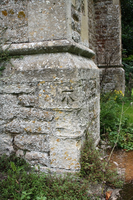 Benchmark on St Peter's Church