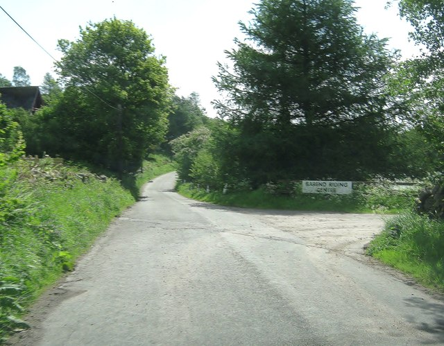 The entrance to Barend Riding Centre