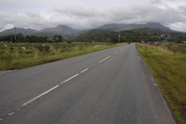 View to the Moelwyns