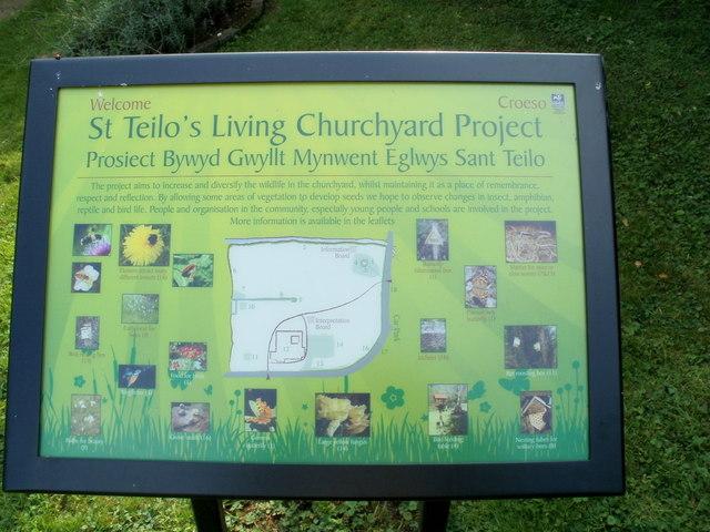 St Teilo's Living Churchyard Project, Llantilio Pertholey