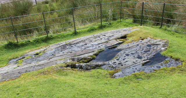 Decorated rock surface, Kilmichael Glassary