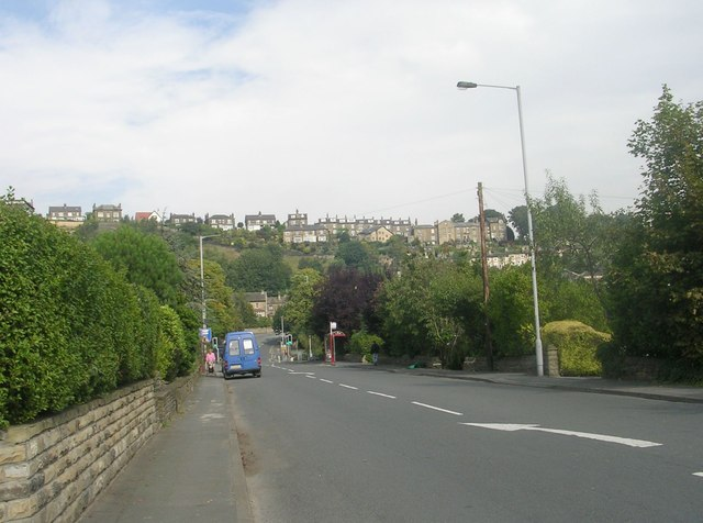 Baildon Road - viewed from Sandals Road