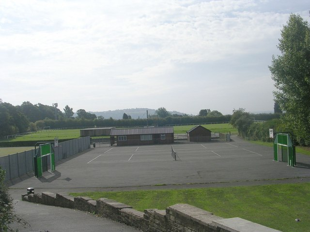 Sports Ground - viewed from Temple Rhydding Drive