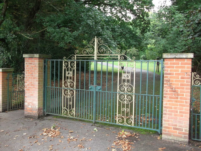 Gates to South Hill Wood