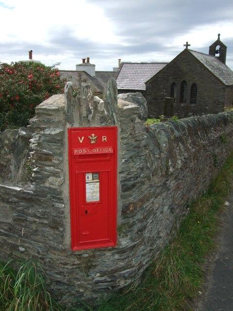 Victorian Postbox Cregneash Folk Museum