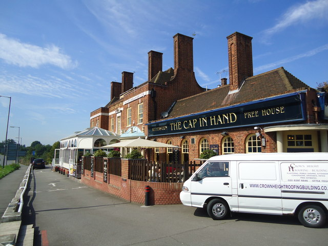 The Cap in Hand public house, Hook
