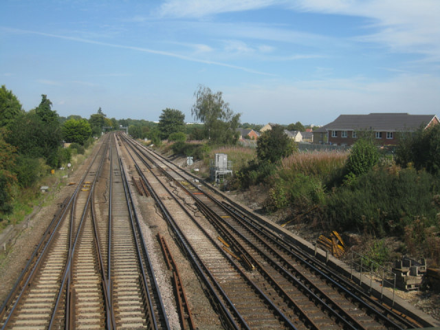 Western approach to Basingstoke