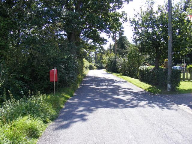 Framlingham Road & Framlingham Road Postbox