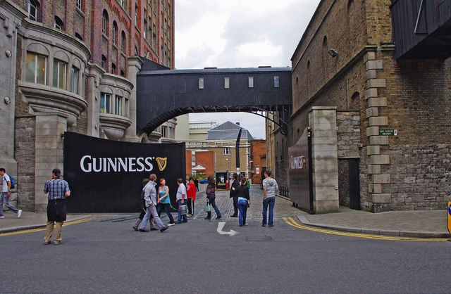 Entrance to the Guinness Storehouse Visitor Centre, Robert Street South, Dublin