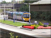SD3439 : Poulton Railway Station by David Dixon