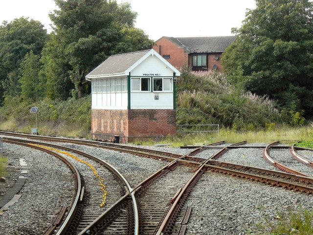 Poulton Signal Box