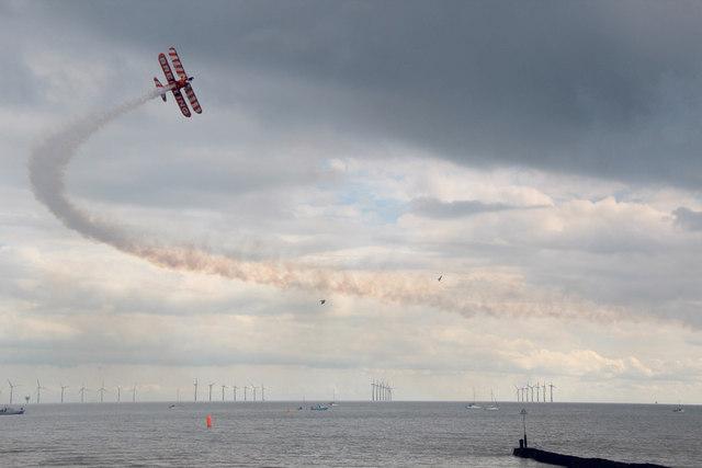 Breitling Wing Walker, Clacton Air Show, Essex