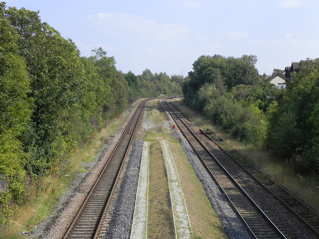 Railway from Station Road