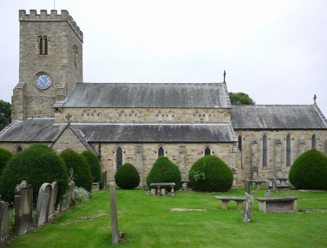 Wolsingham Parish Church from the south