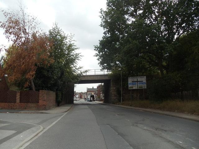 The Railway Bridge, Ackton Road, Castleford