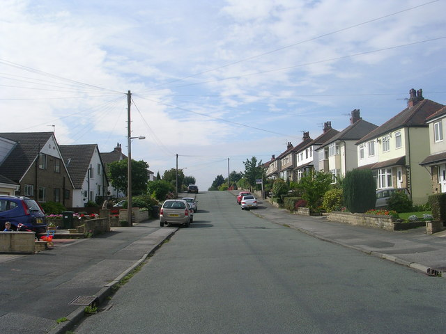 Woodcot Avenue - viewed from Netherland Road