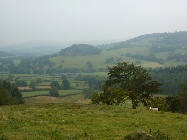 View from top of Coombes, Bakewell