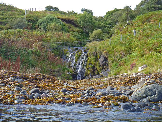 Waterfall at Achnahannaid