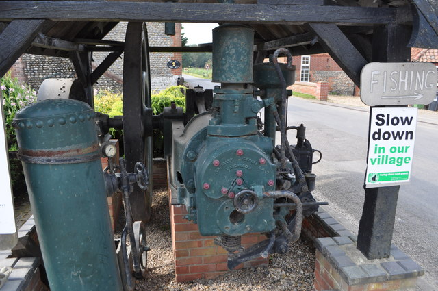 Gimingham Mill - Crossley Oil Engine