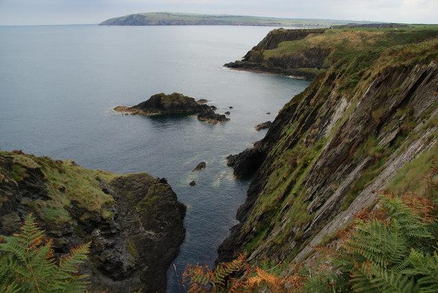 Cliffs near Aberfforest